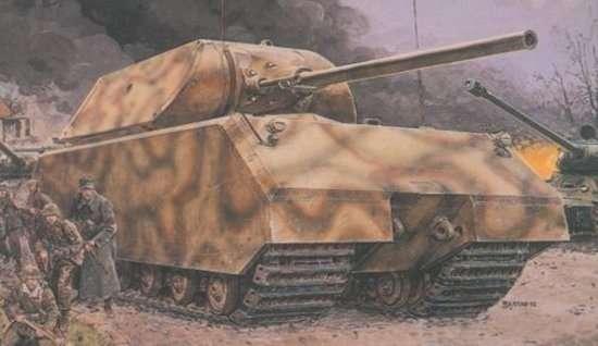 Niemiecki super ciężki czołg Maus, plastikowy model do sklejania Dragon 6007 w skali 1:35.
