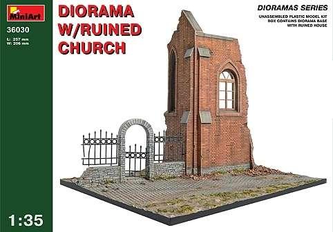 MiniArt 36030 Diorama w/Ruined Church
