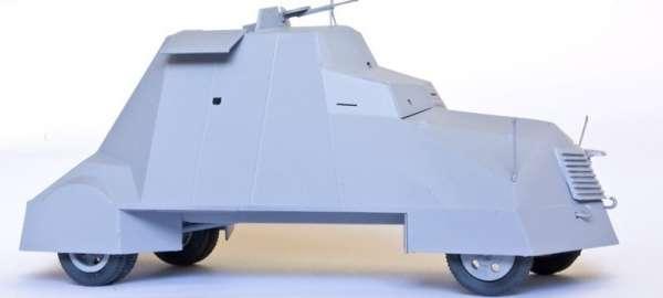 Samochód pancerny Kubuś - Powstanie Warszawskie Sierpień 1944