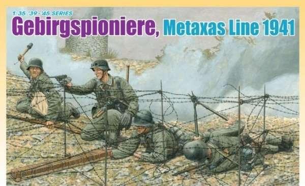 Dragon 6538 - images b - Gebirgspioniere Metaxas Line 1941