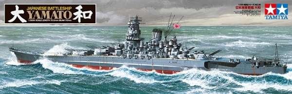 Tamiya 78030 Yamato Japanese Battleship